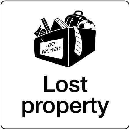 Lost Property Notice