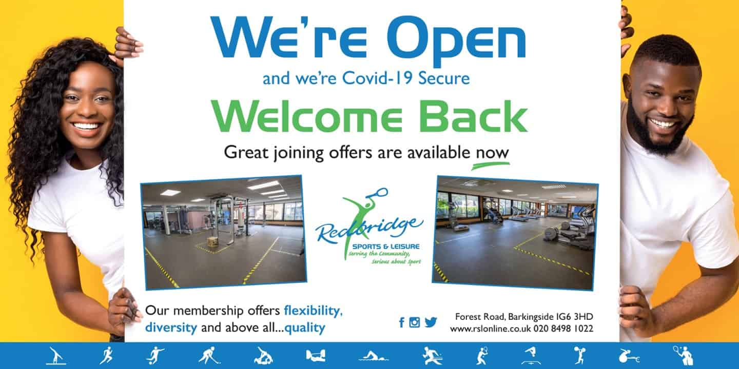 We're Open - Welcome Back!